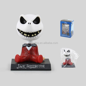 The Nightmare Before Christmas Jack Skellington Red Ver.Bobblehead 11cm toy action figure