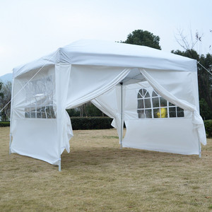 white yard tent shelter with sides the range pop up tent