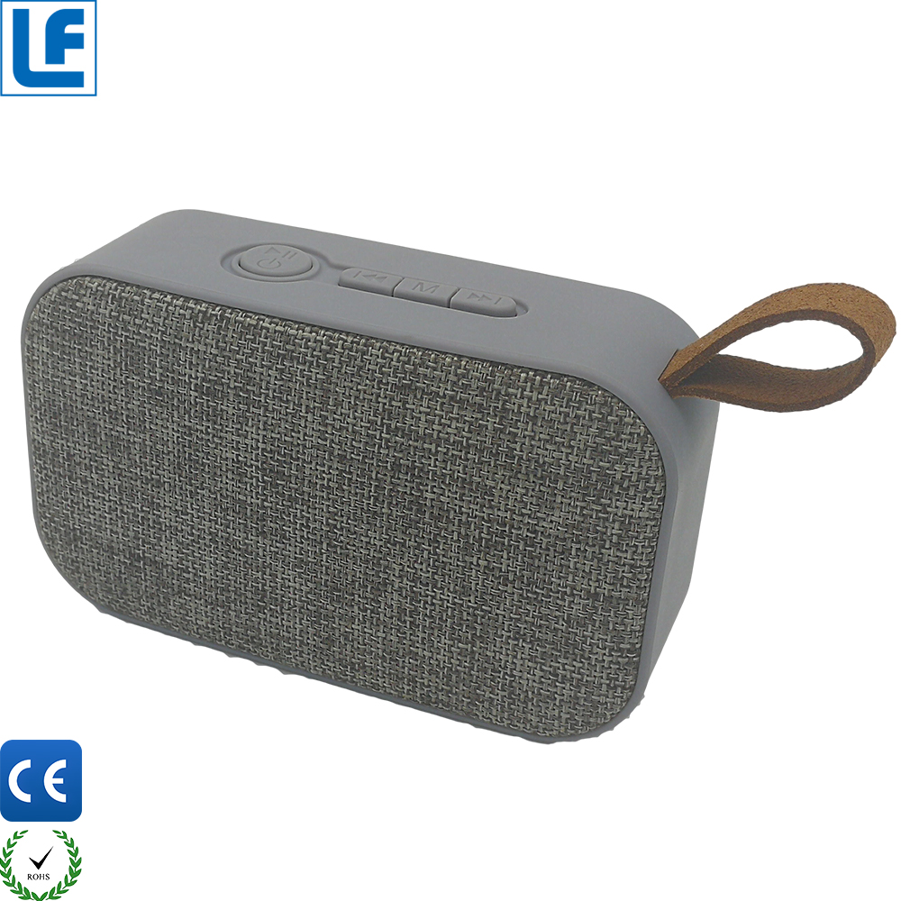 2017 Best Selling Products Cloth Marks Active Speaker With Wireless Fm Radio