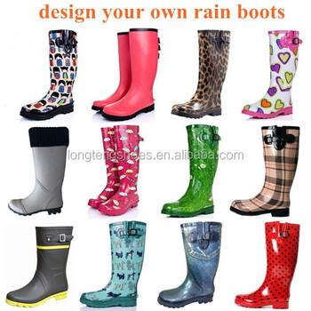 Cheap Black Rain Boots Fashionable