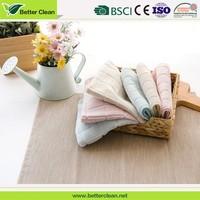 Wash cloth warp knitting wholesale cheap custom china microfiber quick dry hand towels in bulk