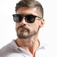 M097 High Quality Mens Tr90 Polarized Sun Glasses Travel Driving Thin And Soft Temple Custom Sunglasses
