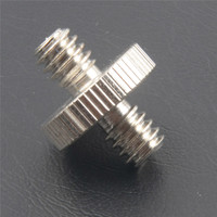 China excellent stainless steel screw supplier m5 thumb flat head double threaded should screw and bolt+13580993760