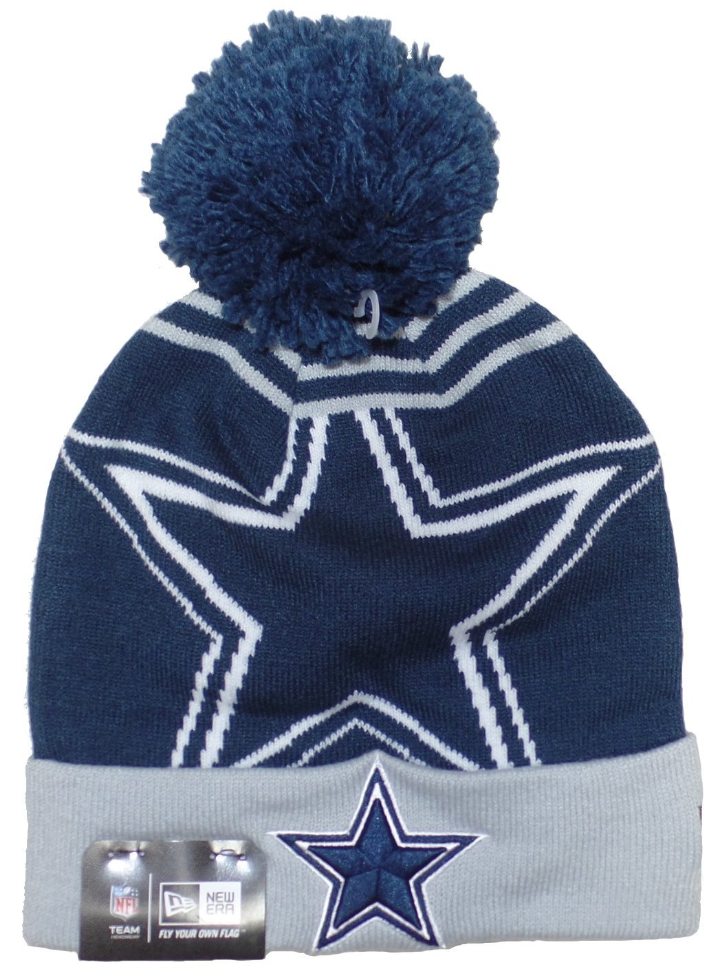 4062343040943 Get Quotations · Dallas Cowboys New Era Logo Wiz Knit Hat