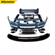 PP plastic M-performance facelift front bumper side skirts extensions rear bumper conversion car body kit for BMW 3 series F30