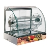 2014 Modern Electric Glass Warming Showcase/Hot Food Display Warmer/Pie warmer