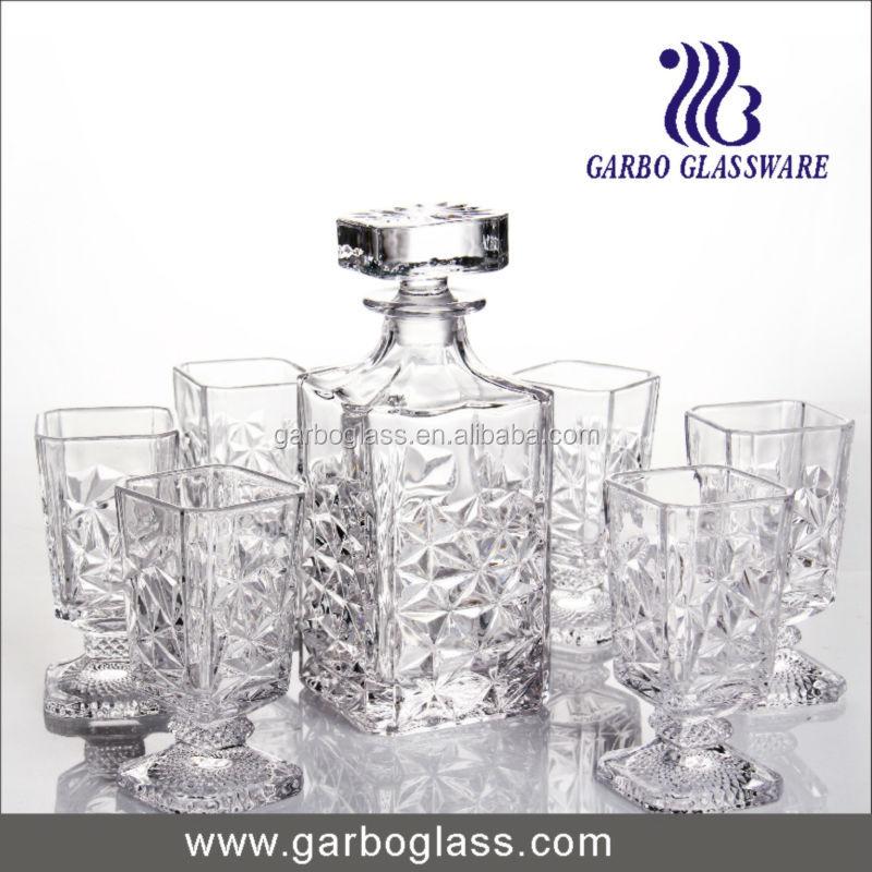 Glass Water Jug Set With Elegant Decal Design/glass Jug Set/glass ...