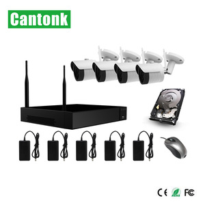 8 Channel Home Security Wireless NVR System IR HD 5mp CCTV Set Outdoor Wifi ip Cameras kit