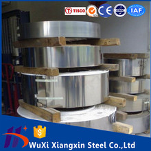 Grade 301 Stainless Steel Strips Coil Price Hot rolled No.1/No.4 surface