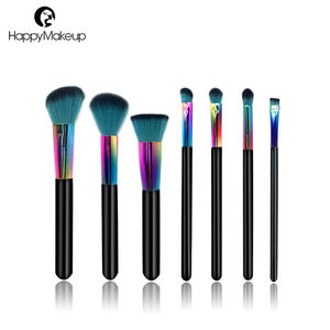 Professional 7pcs Make up Set Eyeshdow Blusher Concealer Lip Eyebrow Makeup Brush