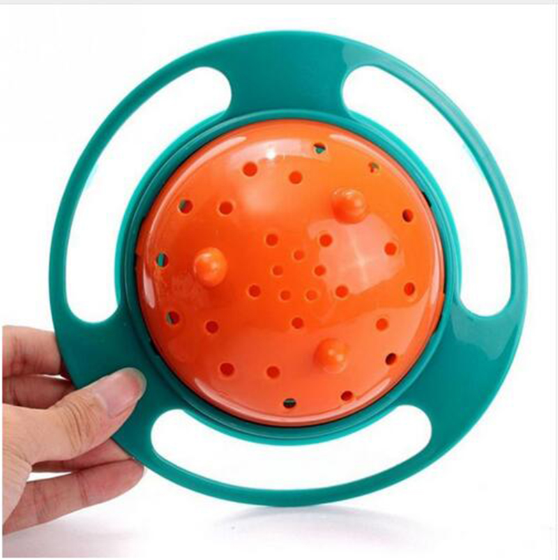 Baby Feeding Learning Dishes Bowl High Quality Assist Toddler Baby Food Dinnerware For Kids Eating Training Gyro Bowl