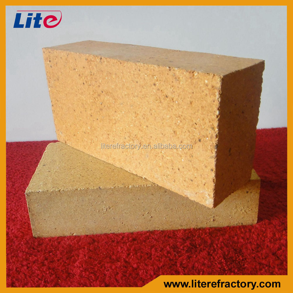 Lower Porosity Fire Clay Bricks Used in the blast furnace