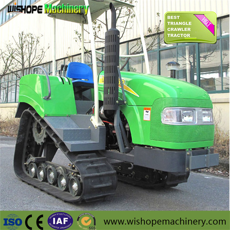 Agricultural Farm Equipment Small Crawler Tractor Rubber Track Tractors for Sale