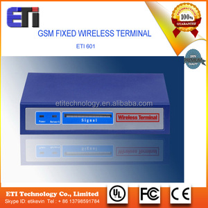 Quad Band GSM fixed wireless terminal with PSTN / GSM FWT / GSM gateway