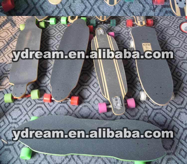 Fibre de verre Slalom longboards planche à roulettes pas cher pour la croisière