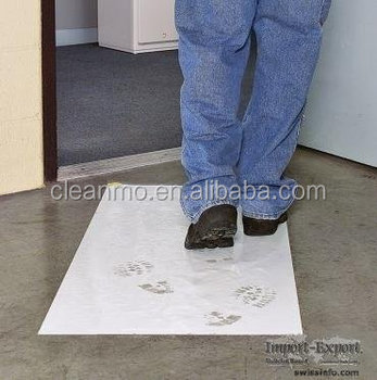Strong Adhesive Coating Antimicrobial Cleanroom Floor