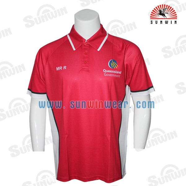 100 polyester dry fit customized sublimation polo shirts for Custom dry fit polo shirts