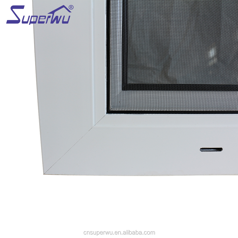 Cheap Replacement Latest Design Aluminum Frame Two Way Open Tilt-Turn Tilt And Turn aluminium Casement Window