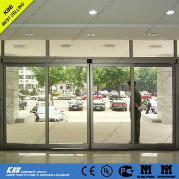 Auto Glass Sliding Door Used Commercial Glass Sliding Door From Top