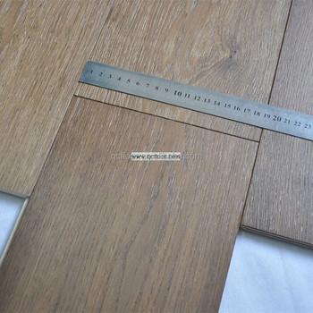 Wide Plank Smoked Oak Flooring Cheap Parquet Wood Flooring Prices