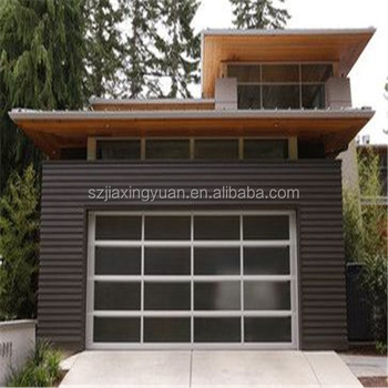 China Shenzhen Factory Price Aluminum Glass 8x7 Garage Door Buy