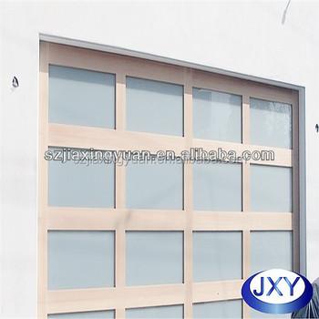 Aluminum Acrylic Glass Garage Door Price Buy Garage Door Price