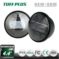 China factory 4.4inch black rtd led motorcycle daytime fog light