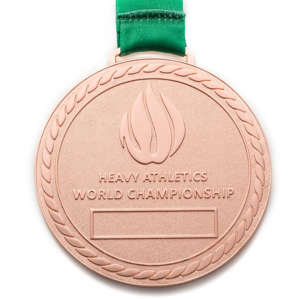 High quality custom personalized chef racing war rugby champions league halloween muay thai hanging make metal gold medal
