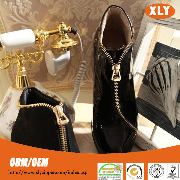 Factory Lowest Price wholesale Long Chain 3# No.3 Metal Zipper For jeans/shoes/boots/garments
