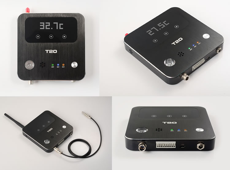 T20 Gsm Wifi Gprs temperature and humidity data logger
