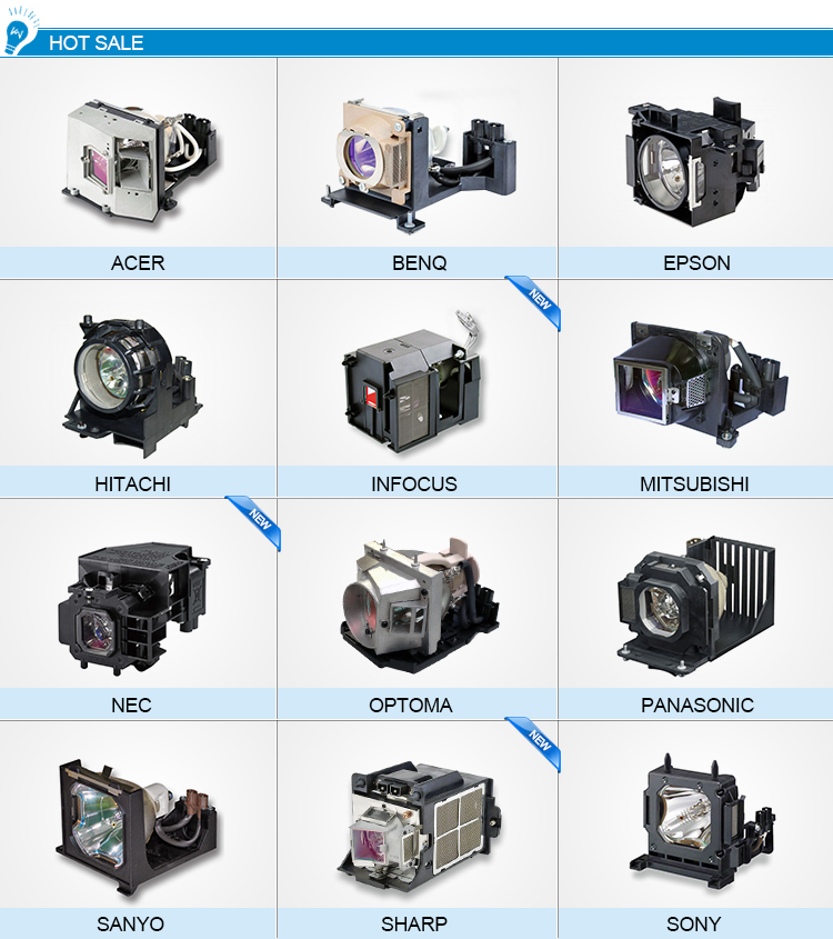 New!!! Best sold projector lamp 5J.J7L05.001 for Benq W1070