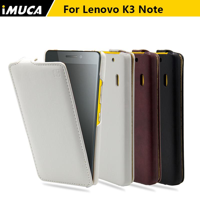 IMUCA original Lenovo K3 Note K50 t5 A 7000 case cover luxury pu leather vertical flip