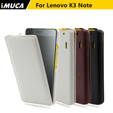 IMUCA original Lenovo K3 Note K50-t5 / A 7000 case cover luxury pu leather vertical flip covers for Lenovo K3 note phone cases