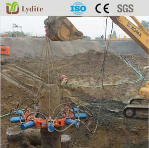 2015 hot sale hydraulic pile breaker for mini excavator cut pile any size piler breaker made in china