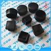 Custom Black Nylon PVC Square Plastic End Caps Plug For Furniture