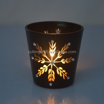 ganpati decoration glass votive candle holder decoration christmas - How To Decorate Votive Candle Holders For Christmas