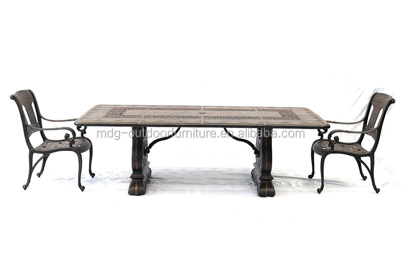 High Quality Patio Furniture Cast Iron Garden Furniture Used Restaurant Furni