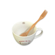Creative Double Use Ice Caviar Wooden Fork spoon