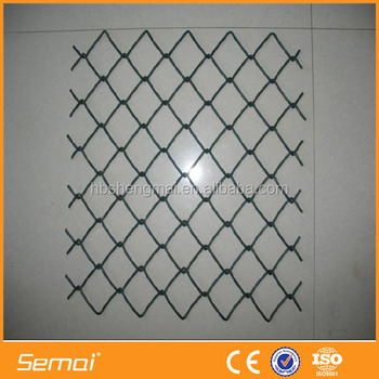 Decorative Rolled Fencing / Diamond Wire Mesh Welded Wire Mesh Woven ...