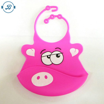 Adjustable Customized FDA Standard Fashion Cheap Silicone Baby Manufacturer Wholesale Custom Waterproof bibs