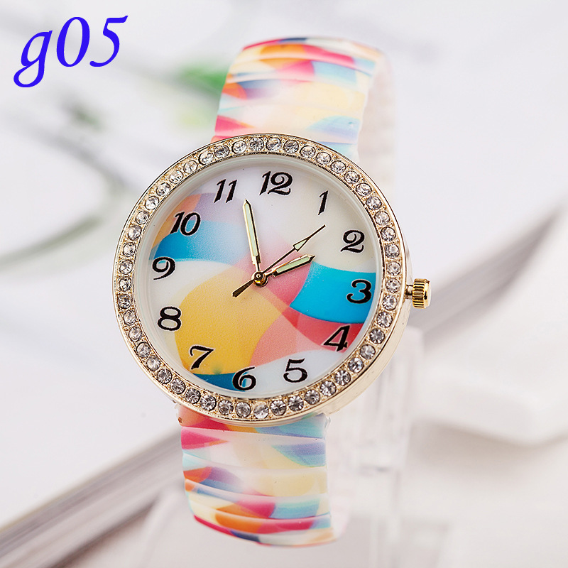 2014 Newest Noctilucent Leisure Promotional Item Women Silicon Wrist Watch