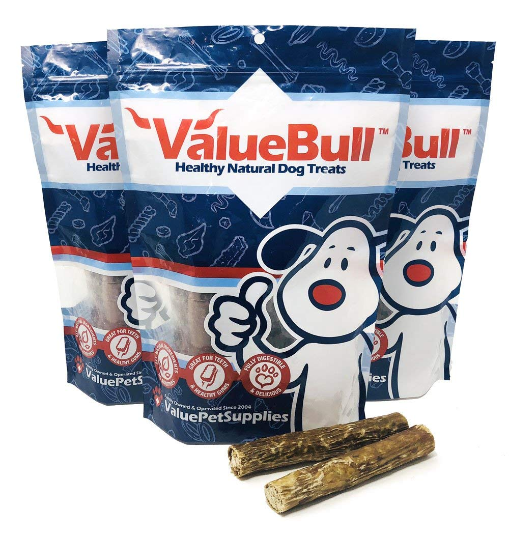 Long Lasting Bully Bones for Aggressive Chewers USDA Free Range Cows Extra Thick Bully Sticks for Dogs No Hormones Pizzle Sticks for Dogs Grass Fed Raw Paws Jumbo Bully Sticks 6 /& 12 inch