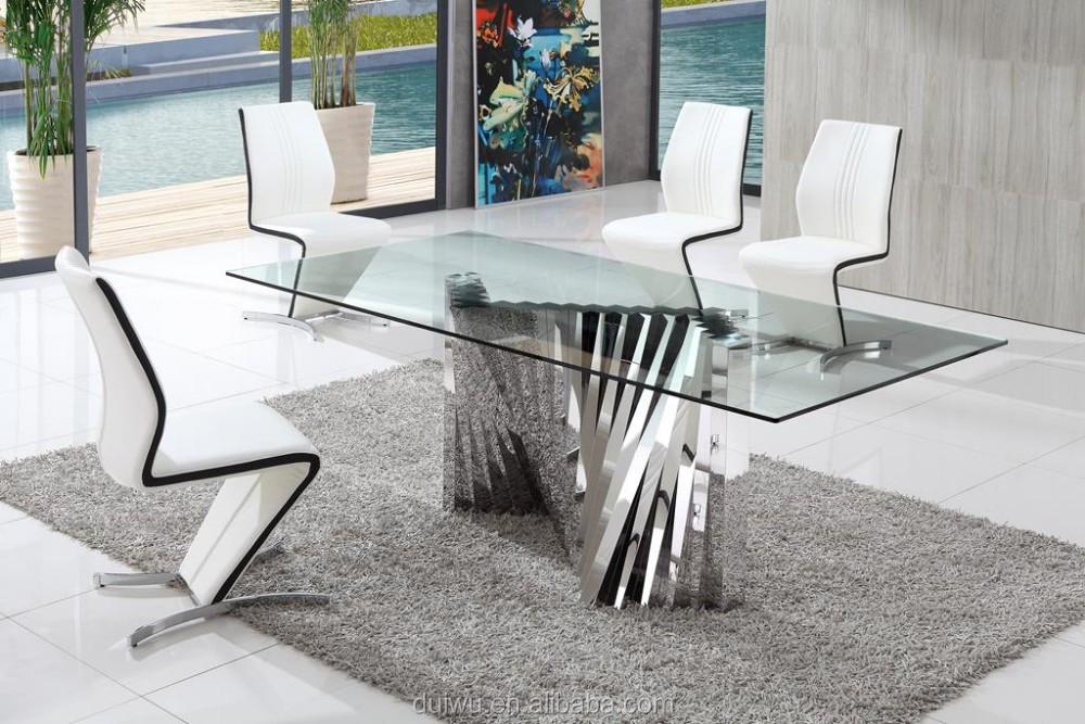 mobili moderni sala da pranzo in stile tedesco trasparente in ... - Mobili Moderni Sala Da Pranzo