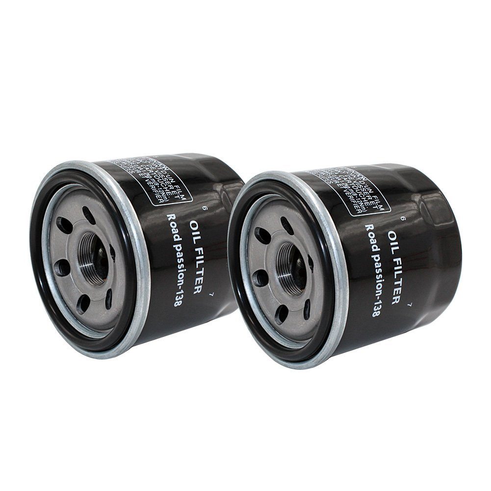 Road Passion Oil Filter for APRILIA RSV4 FACTORY 2010 RSV4 R 1000 2011(pack of 2)