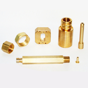 machining Furniture Nut Blind Knurled Brass Bushing Threaded Tube Insert