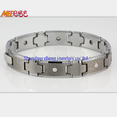 Directly Wholesales Tungsten Carbide bracelets made of natural stones