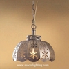 Arabic antique bronze all cooper pendant lamp suspended hanging lighting