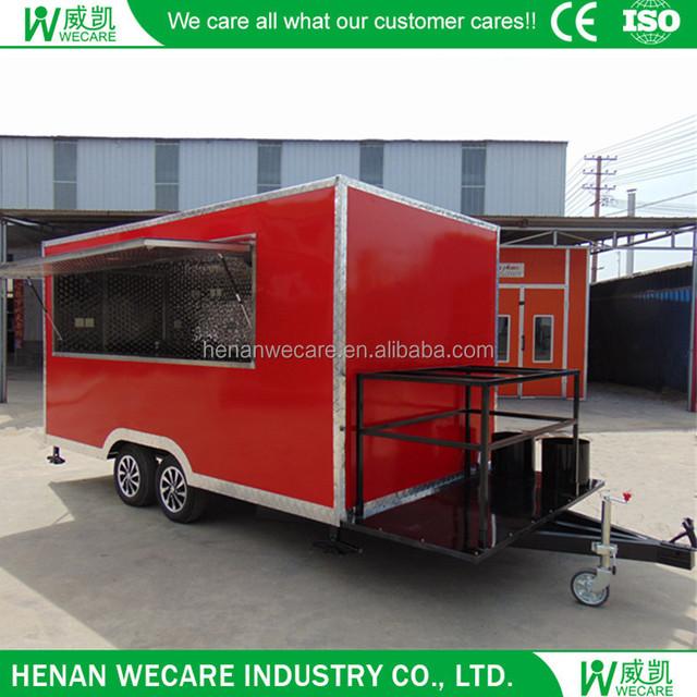 catering trailer food trucks_Yuanwenjun com