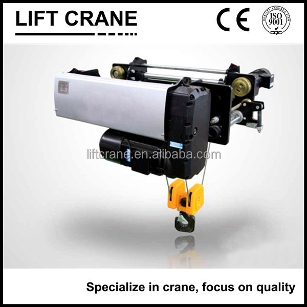 5 ton ABM motor electric wire rope hoist for european overhead crane