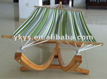 Three Feet Wood Arc Hammock Stand